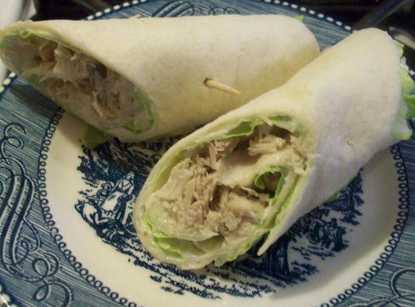Smoked Turkey Salad Wrap Recipe