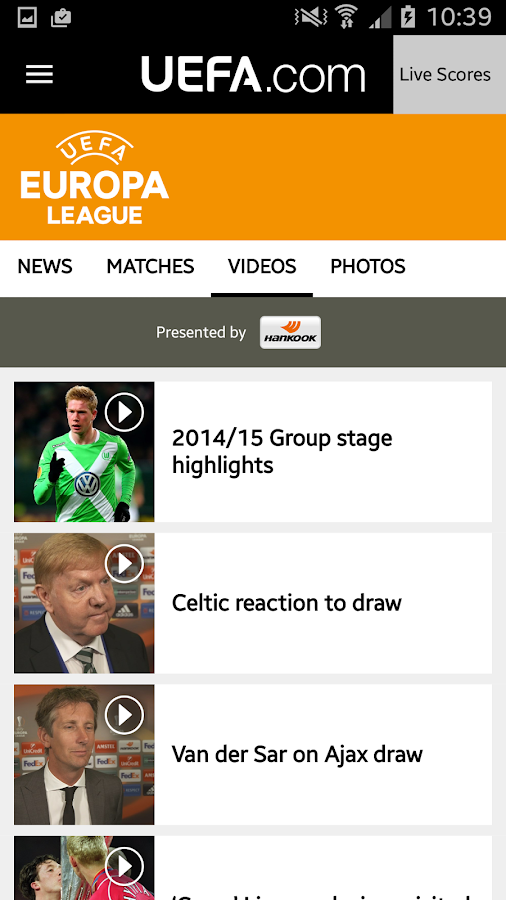 UEFA.com- screenshot
