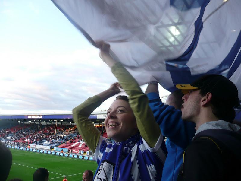 Photo: Blackburn under the flag