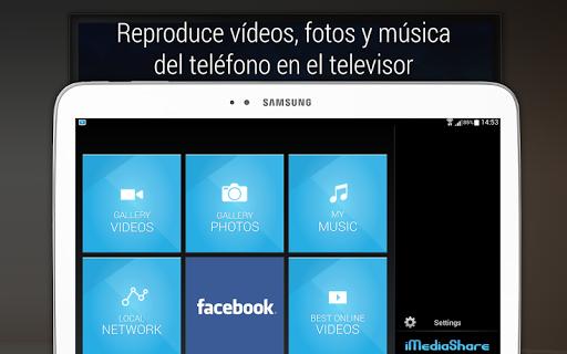 iMediaShare – Fotos y música screenshot 8