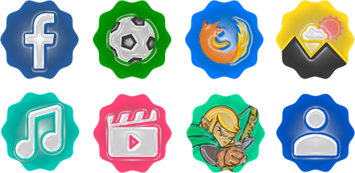 Plastimix Icon Pack (€1.09) GRÁTIS na Play Store 1