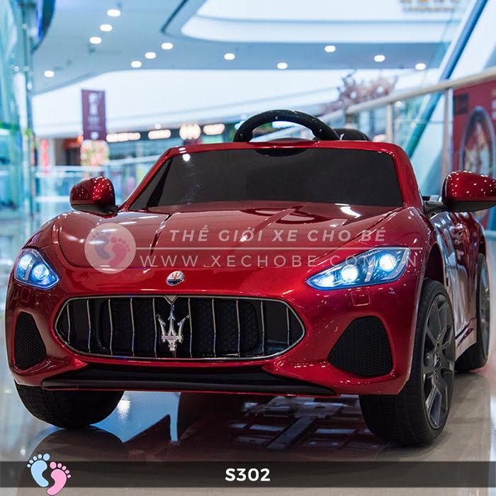 xe oto dien cho be Maserati S302 3