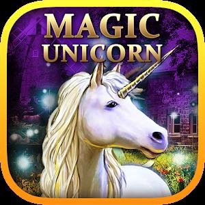 Magic Unicorn In The Wild