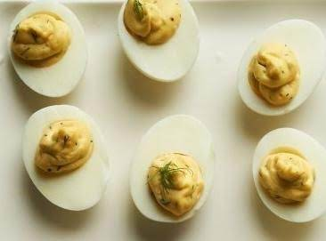 Dilled Deviled Eggs Recipe
