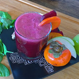 Pre-Workout Super Beet Persimmon Juice