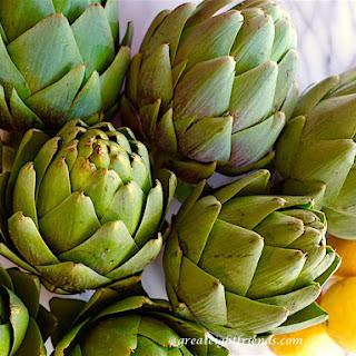 Lemon and Olive Oil Braised Artichokes