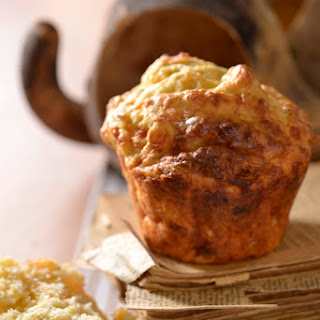 Amasi Muffins with Parmesan & Leeks