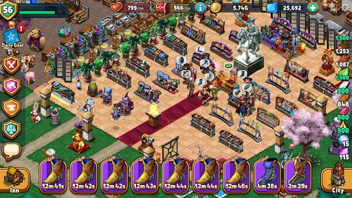 Shop Heroes: Trade Tycoon apktram screenshots 7