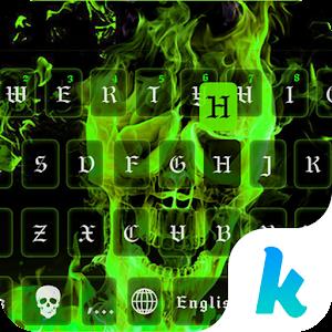 Hell Fire Kika Keyboard Theme