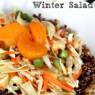 Cabbage Quinoa Winter Salad.
