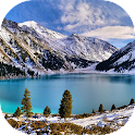 Mountain lakes live wallpaper icon