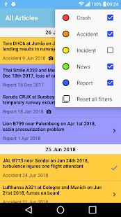 The Aviation Herald Screenshot