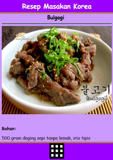 Resep Masakan Korea Bonchon