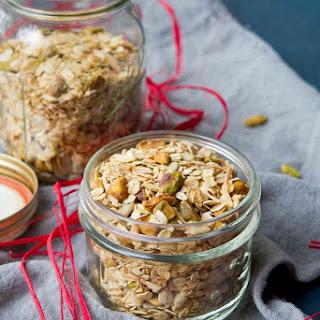 Maple Pistachio Granola - Healthy Recipe