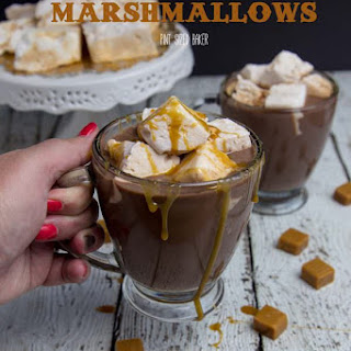 Homemade Salted Caramel Marshmallows