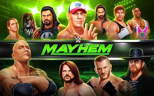 Re: WWE Mayhem poster