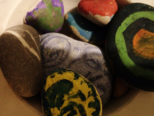 Pietre pitturate di lexa