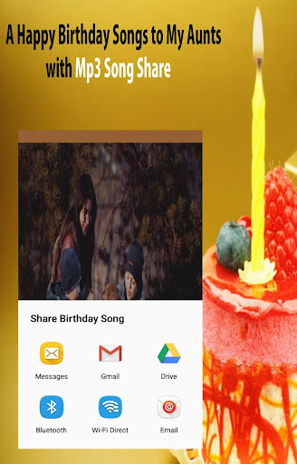 Happy Birthday Songs for Aunt by orion apps inc (Google Play, United