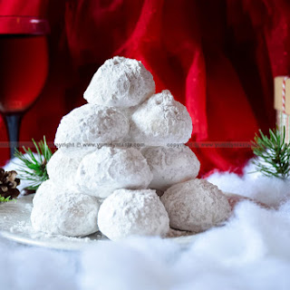 Almond-Coconut Snowball Cookies.