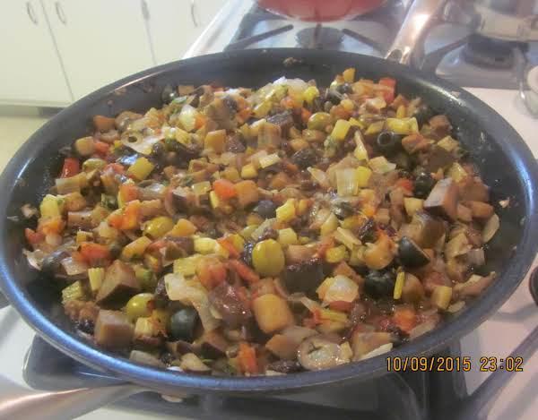 Coponata (eggplant Relish)