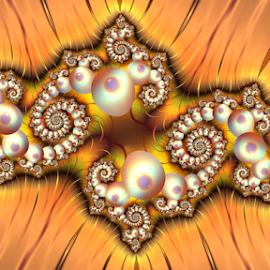 by Cassy 67 - Illustration Abstract & Patterns ( swirl, wallpaper, digital art, spiral, fractal, digital, fractals )