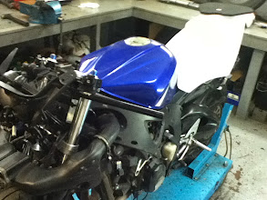 Photo: Front on view of new bits