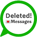 View deleted messages & photo recovery icon