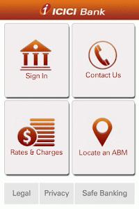ICICI Bank Mobile- Canada screenshot 0