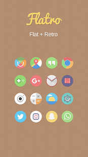 Flatro Icon Pack- screenshot thumbnail
