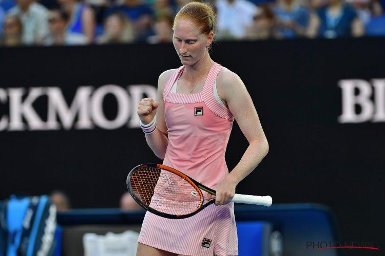 Van Uytvanck vermijdt ontgoocheling en staat dan toch voor het eerst in tweede ronde Australian Open
