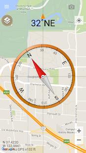 Smart Compass Pro Screenshot