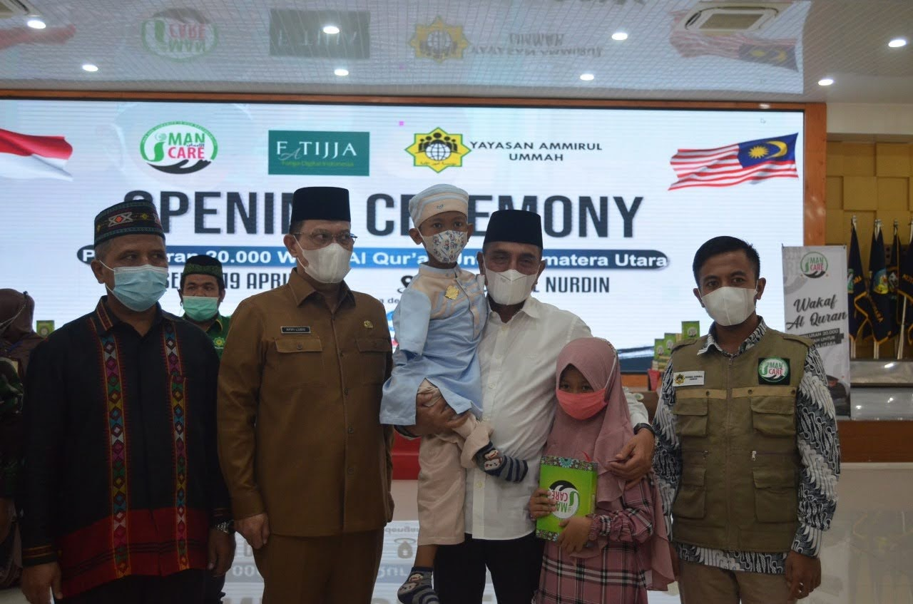 Keberkahan di Bulan Ramadhan, Yayasan Amirul Ummah Salurkan 20.000 Al-qur'an Untuk Sumatera Utara