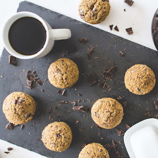 Coffee + Dark Chocolate Muffins
