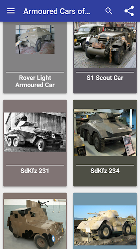 Armoured cars of WW2