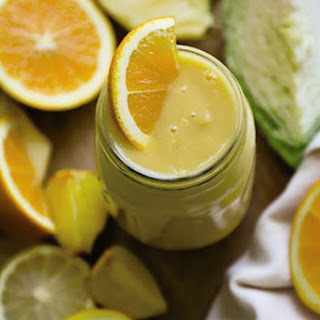 Citrus Cold Recovery Smoothie from Simple Green Smoothies.