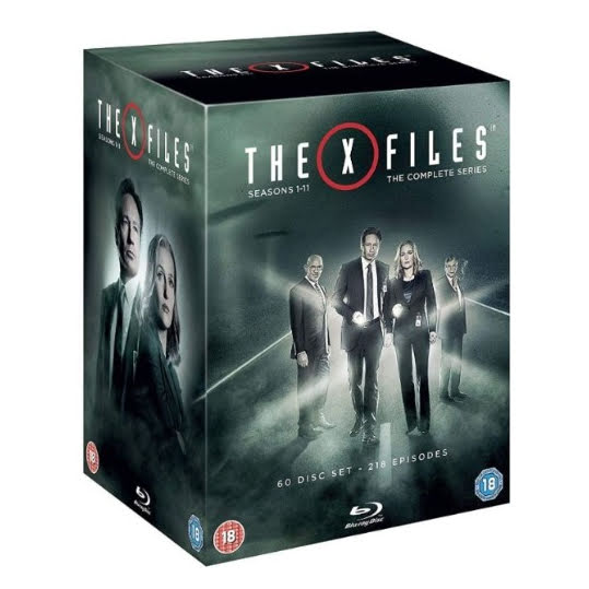 X Files - The Complete Series (Blu-ray) (60 disc) (UK)