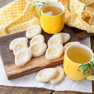 Tart Lemon Curd Cookies.