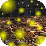 Fireflies Magic 3D Flight LWP Icon