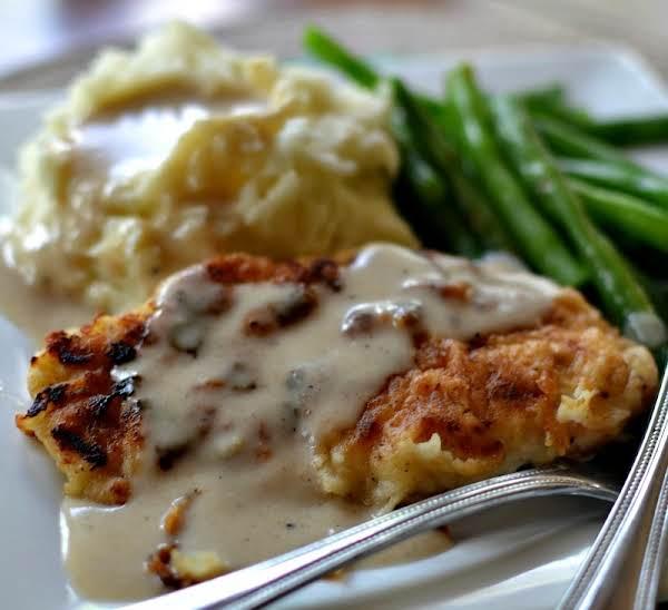 Pan Fried Chicken With Cream Gravy Recipe