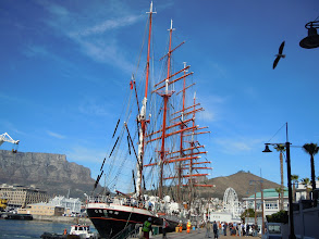 Photo: Docked at Quay 6 in the V&A
