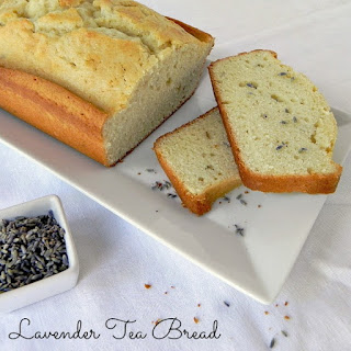 Lavender Tea Bread Recipe