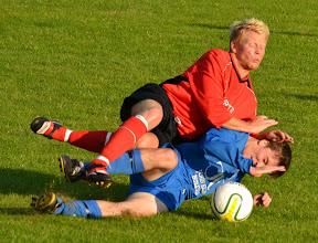 Photo: 24/08/11 v Knaresborough Town (West Yorkshire League Prem Div) 1-1 - contributed by Andy Gallon