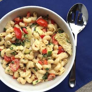 Company Pasta Salad with Veggies Recipe