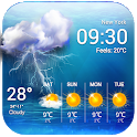 Live weather & widget for android. icon