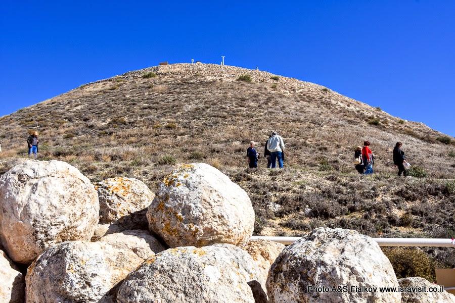 Гора – крепость Иродион. Экскурсия в Израиле.