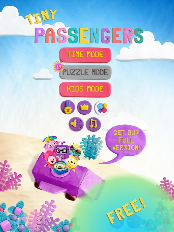Tiny Passengers (free version)- screenshot