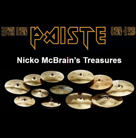 Paiste Nicko McBrain's Treasures Limited Edition Box Set