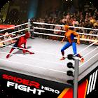 Superhero VS Spider Hero Fighting Arena Revenge icon