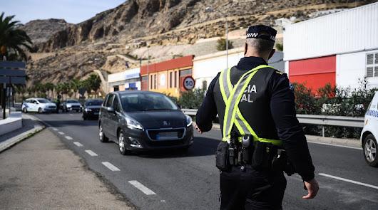 44 sanciones en la última semana por intentar salir de Almería capital