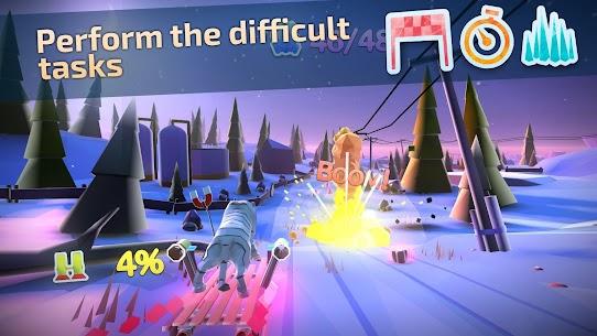 Animal Adventure: Downhill Rush MOD (Free Shopping) 4